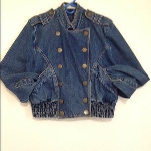 Neiman Marcus denim jacket sz10